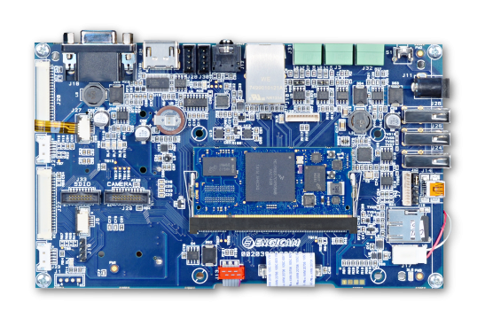 ENG-BOARD.EVB – carrier board firmy Engicam (EVB Carrier Board)